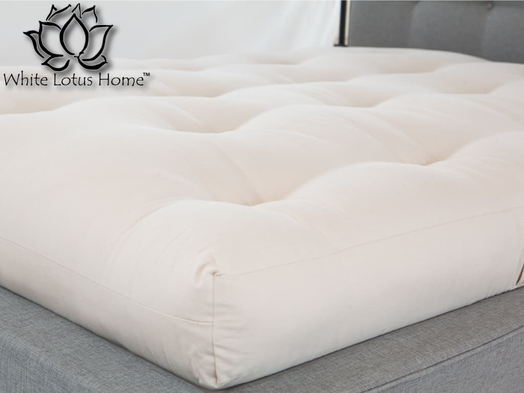 Green Cotton Amp Wool Dreamton Mattresses Firm Under