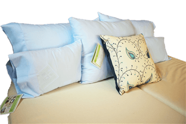 White Lotus Home 100% Cotton Sheets in Light Blue