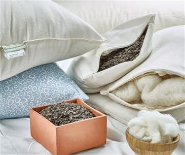 White Lotus Home Buckwool Sleep Pillows