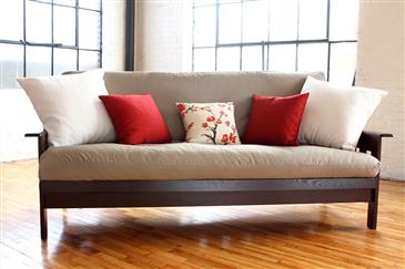 White Lotus Home FUTON & MATTRESS COVERS in Cotton Twill Fabric - WLH A