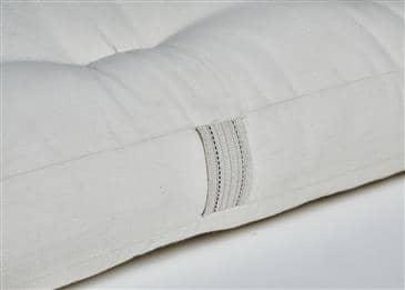 White Lotus Home Green Cotton Mattress without Fire Retardant