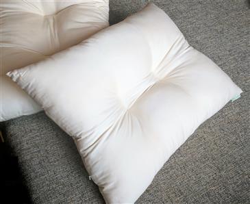 White Lotus Home KaPillow - Kapok Contour Pillow