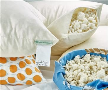 White Lotus Home Natural Shredded Latex Sleep Pillows