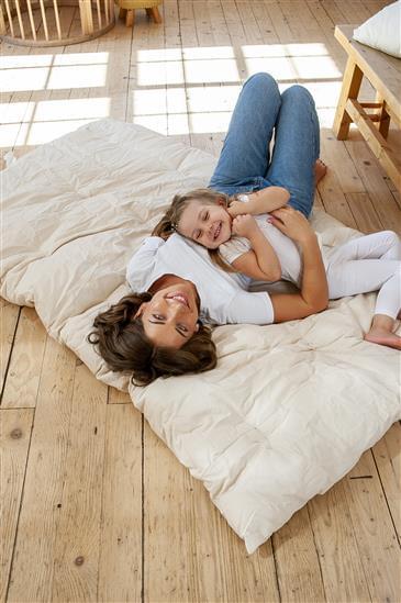 White Lotus Home Organic Cotton Boulder Massage Mat (NO COVER)