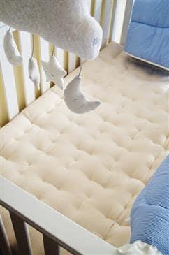White Lotus Home Organic Cotton Crib Mattress