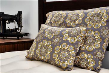 "White Lotus Home Organic Cotton Sateen Fabrics 110"" Wide"