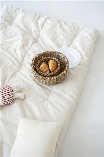 White Lotus Home Organic Cotton & Wool Boulder Dreamton Massage Mat (NO COVER)