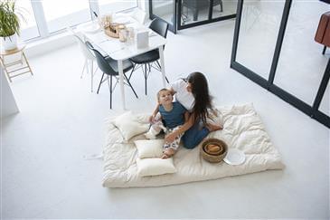 White Lotus Home Organic Cotton & Wool Dreamton Massage Mat (NO COVER)