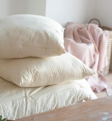 White Lotus Home Organic Wool Sleep Pillows
