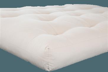 White Lotus Home Pure Cotton and Wool Latex Dreamton Futon