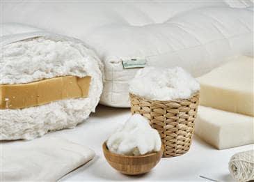 White Lotus Home Pure Cotton & Foam Mattress without Fire Retardant