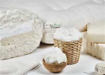 """White Lotus Home Pure Cotton Hybrid 5"""" Futon Mattress"""