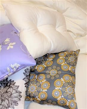 White Lotus Home Travel Contour Pillows
