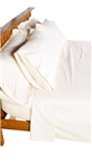 Organic Cotton Sateen Duvet Covers in Natural (WLH D)