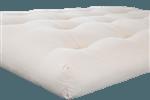 Green Cotton and Foam Futon without Fire Retardant