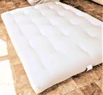 White Lotus Home Organic Cotton and Wool Dreamton Futon