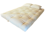 White Lotus Home Organic Cotton & Wool Dreamton Mattress