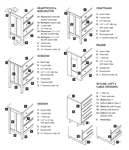 VFD Rectangle or Standing MIRRORS